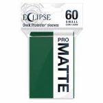 Protèges Cartes Format JAP  Sleeves Ultra-pro Mini Par 60 Eclipse Pro Matte Vert forêt (Forest Green)