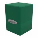 Deck Box  Satin Cube Deck Box Green Forest