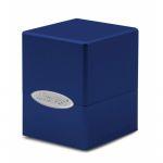 Deck Box  Satin Cube Deck Box Pacific Blue