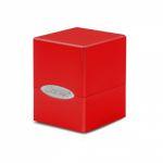 Deck Box  Satin Cube Deck Box Apple Red