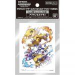 Protèges Cartes Standard Digimon Card Game Agumon & Gabumon - Par 60