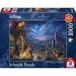 Réflexion Puzzle la Belle et la Bête - 1000 pièces