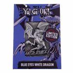 Yu-Gi-Oh! Carte en métal Edition Limited - Dragon blanc aux yeux bleus