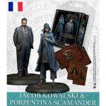 Jeu de Plateau Pop-Culture Harry Potter, Miniatures Adventure Game: Tina Goldstein et Jacob Kowalski