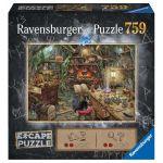 Escape Game Réflexion Escape Puzzle - La cuisine de la sorcière