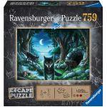 Escape Game Réflexion Escape Puzzle - La meute des loups