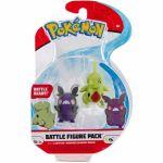 Figurine Pokémon Battle Figure - Embrylex et Morpeko (Mode Affamé)
