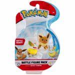 Figurine Pokémon Battle Figure - Evoli et Voltoutou