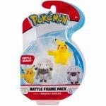 Figurine Pokémon Battle Figure - Pikachu et Moumouton