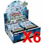 Boite de Boosters Français Yu-Gi-Oh! 24 Boosters - L'Aube de la Majesté - Lot de 6