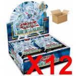 Boite de Boosters Français Yu-Gi-Oh! 24 Boosters - L'Aube de la Majesté - Lot de 12