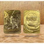 Album Collector Yu-Gi-Oh! Carte Métal en Or Plaqué 24K - Dragon Blanc aux Yeux Bleus