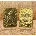 Album Collector Yu-Gi-Oh! Carte Métal en Or Plaqué 24K - Magicienne des Ténèbres