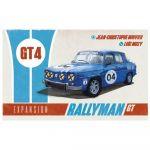 Gestion Stratégie Rallyman GT - Extension GT4
