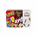 Gestion Stratégie Coffret Multicartes : Uno/Phase10/Snappy Dressers