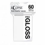 Protèges Cartes Format JAP  Sleeves Ultra-pro Mini Par 60 Eclipse Pro Gloss Blanc (Artic White)