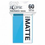 Protèges Cartes Format JAP  Sleeves Ultra-pro Mini Par 60 Eclipse Pro Matte Bleu Ciel (Sky Blue)