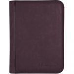 Portfolio  UltraPro - Premium Pro-binder ZIPPERED SUEDE - Améthyste - 160 Cases (20 Pages De 8)