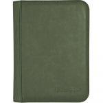 Portfolio  UltraPro - Premium Pro-binder ZIPPERED SUEDE - Emeraude - 160 Cases (20 Pages De 8)