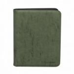 Portfolio  UltraPro - Premium Pro-binder ZIPPERED SUEDE - Emeraude - 480 Cases (20 Pages De 12)