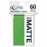 Protèges Cartes Format JAP  Sleeves Ultra-pro Mini Par 60 Eclipse Pro Matte Vert (Lime Green)