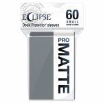 Protèges Cartes Format JAP  Sleeves Ultra-pro Mini Par 60 Eclipse Pro Matte Gris (Smoke Grey)