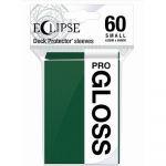 Protèges Cartes Format JAP  Sleeves Ultra-pro Mini Par 60 Eclipse Pro Gloss Vert forêt (Forest Green)