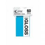 Protèges Cartes Format JAP  Sleeves Ultra-pro Mini Par 60 Eclipse Pro Gloss Bleu ciel (Sky Blue)