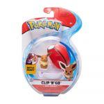 Figurine Pokémon Clip'N'Go Evoli + Poke Ball