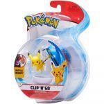 Figurine Pokémon Clip'N'Go Pikachu + Super Ball