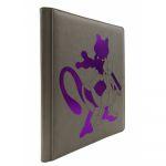 Portfolio Pokémon Premium Pro-binder - Simili Cuir Mewtwo - 360 Cases (20 Pages De 18)