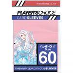 Protèges Cartes Format JAP  Player's Choice Pink/Rose