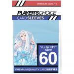 Protèges Cartes Format JAP  Player's Choice Blue/Bleu