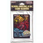Protèges Cartes Format JAP Yu-Gi-Oh! Officiel Konami - Egyptian God par 50
