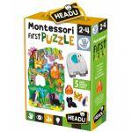 Ludo-Educatif Enfant Montessori : First puzzle : La Jungle