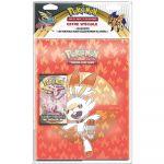 Portfolio Pokémon Flambino - A4 - 9 Cases + 1 Booster Epée et Bouclier EB02