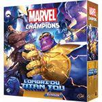 Jeu de Cartes Best-Seller Marvel Champions - L' ombre du Titan Fou