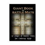 Tapis de Jeu Jeu de Rôle Giant Book of Battle Mats (A3)