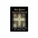 Tapis de Jeu Jeu de Rôle Big Book of Battle Mats (A4)
