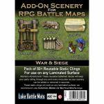 Tapis de Jeu Jeu de Rôle Add-On Scenery for RPG Maps - War & Siege