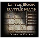 Tapis de Jeu Jeu de Rôle Little Book of Battle Mats : Dungeon Edition