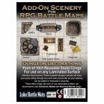 Tapis de Jeu Jeu de Rôle Add-On Scenery for RPG Maps - Dungeon Decorations