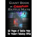 Tapis de Jeu Jeu de Rôle Giant Book of CyberPunk Battle Mats (A3)