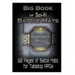 Tapis de Jeu Jeu de Rôle Big Book of Sci-Fi Battle Mats (A4)