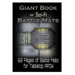 Tapis de Jeu Jeu de Rôle Giant Book of Sci-Fi Battle Mats (A3)