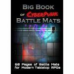 Tapis de Jeu Jeu de Rôle Big Book of CyberPunk Battle Mats (A4)