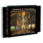 Tapis de Jeu Jeu de Rôle Book of Battle Mats - Towns & Taverns