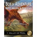 Tapis de Jeu Jeu de Rôle Box of Adventure - 1. Valley of Peril