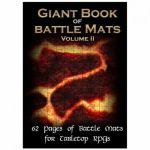 Tapis de Jeu Jeu de Rôle Giant Book of Battle Mats volume 2 (A3)