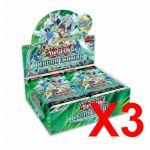 Booster en Français Yu-Gi-Oh! Boite De 36 Boosters - Les Duellistes Légendaires : Tempête Synchro - Lot de 3